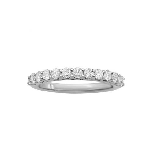 10 Orient Atelier V Prong Half Infinity Ring 0