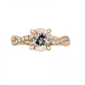 12 Orient Atelier Morganite Classic Wave Ring 0