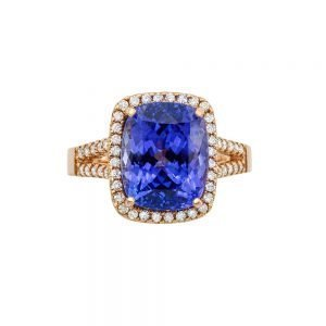 5 Orient Atelier Tanzanite Double Band Ring 0