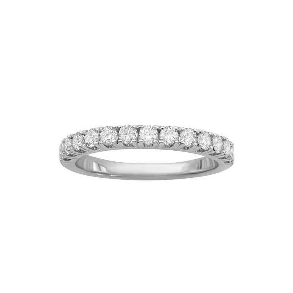 9 Orient Atelier T Prong Half Infinity Ring 0