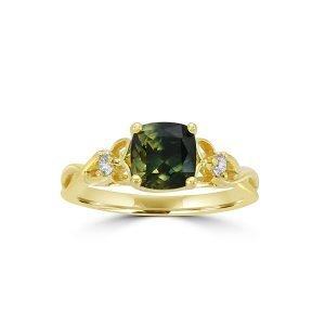 2 Orient Atelier Parti Sapphire Celtic Knot Ring 1