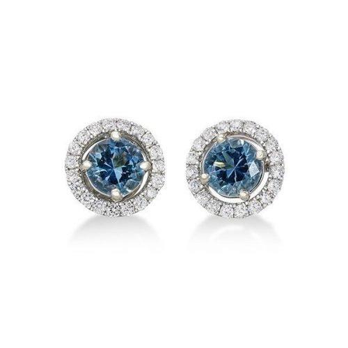 4 Orient Atelier Aquamarine Diamond Jacket Studs 1