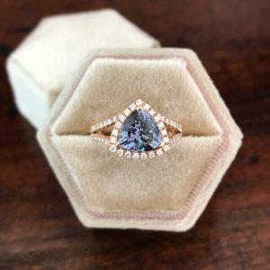 29 Aurora Tanzanite Ring 0