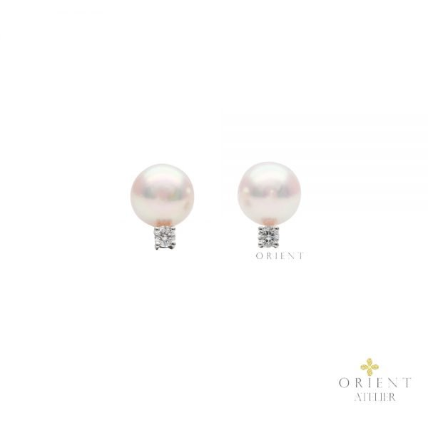 Belle Akoya Pearl Earrings by Orient Atelier