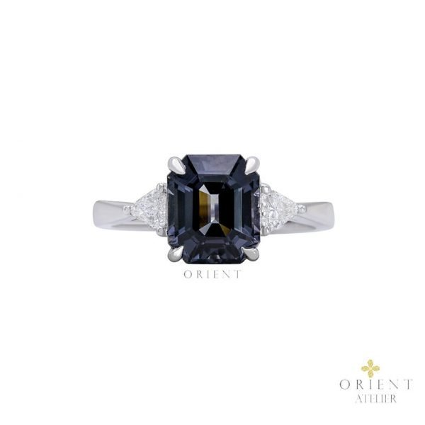 22 Grey Spinel Ring 0