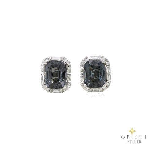 WE3 Celine Grey Spinel Earrings