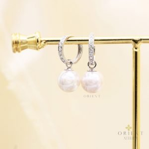 Rebecca Akoya Pearl Earrings by Orient Atelier