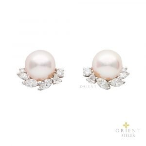 Carina Akoya Pearl Earrings by Orient Atelier