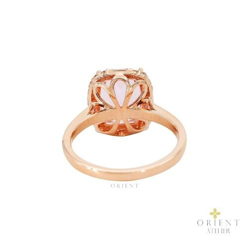 Pink Morganite Ring by Orient Atelier