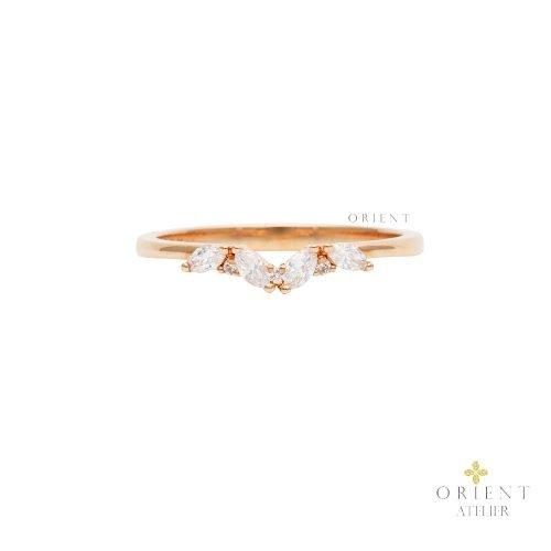 WR25 Orient Atelier Diamond Rosé Vivianne Marquis Ring