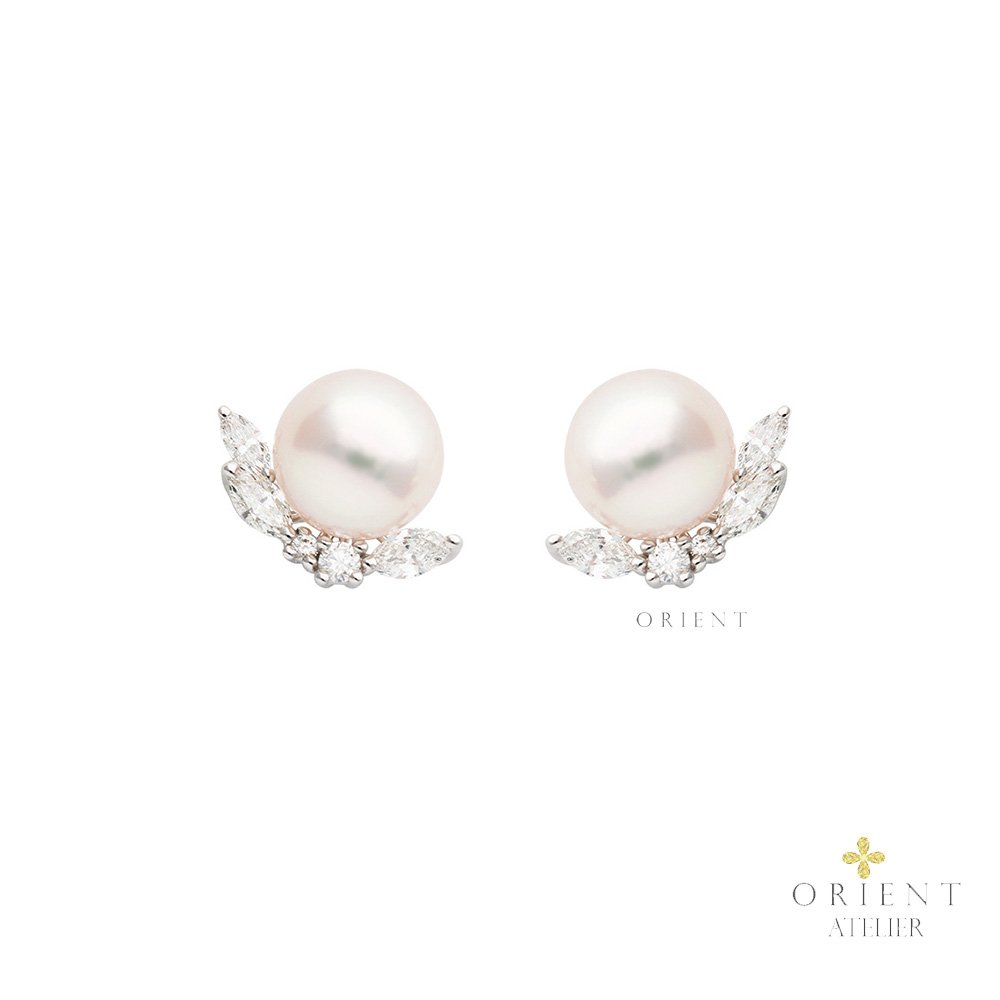 WEy Sancia Mini Akoya Diamond Pearl Earring 3