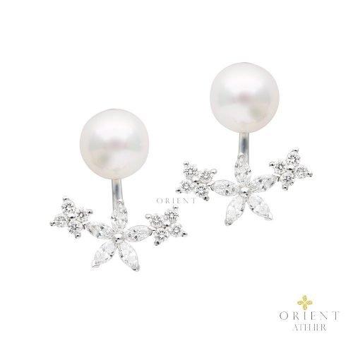 WE28 Orient Atelier Akoya Pearl Earrings