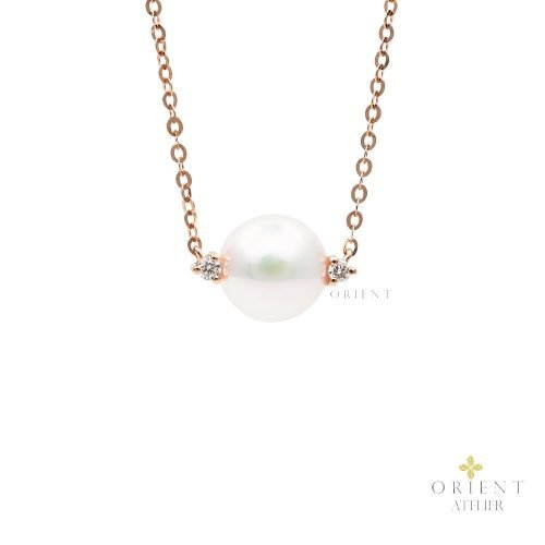 PDNEF4 WC9  Orient Atelier Akoya Pearl Necklace