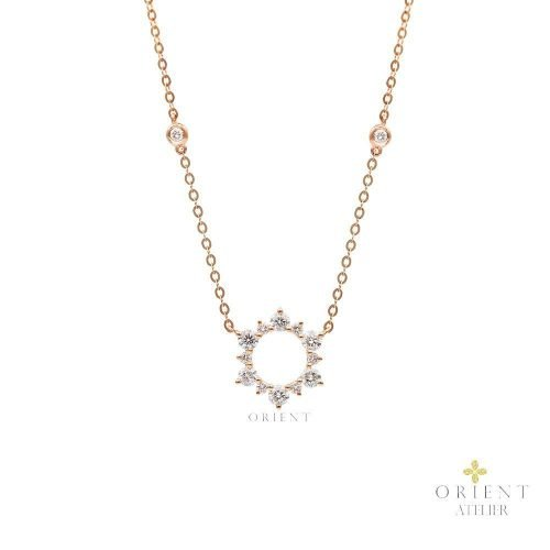 PDNEF4 WC14 Orient Atelier Diamond Necklace