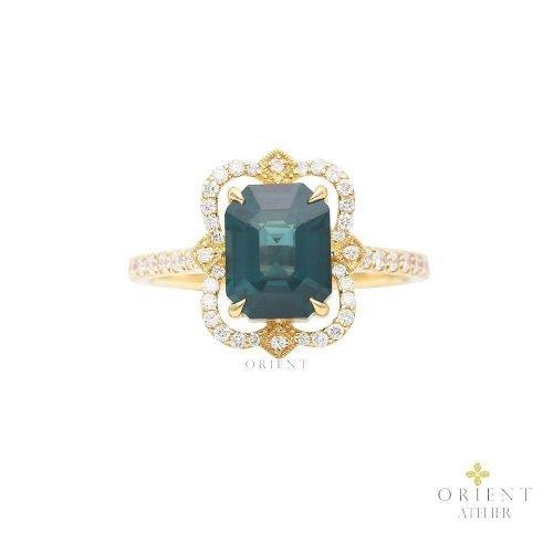 SDR119 WR51 Orient Atelier Spinel Vintage Ring