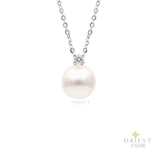 PDNEF7 WC7 9mm Orient Atelier Akoya Pearl Necklace
