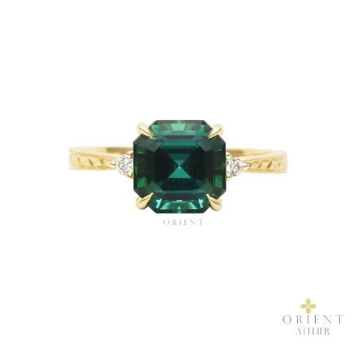 SDR120 WR55 Orient Atelier Tourmaline Vintage Ring