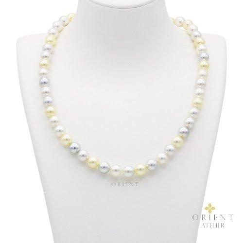 TP545 Orient Atelier Akoya Pearl Necklace Fancy Mix