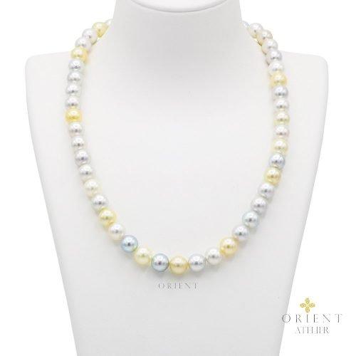 TP546 Orient Atelier Akoya Pearl Necklace Fancy Mix