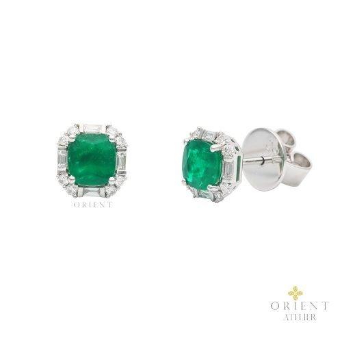 WE37 Orient Atelier Columbian Emerald Earrings