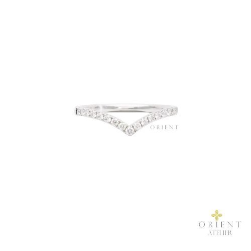 DR501 WR52 Orient Atelier Curved V Ring