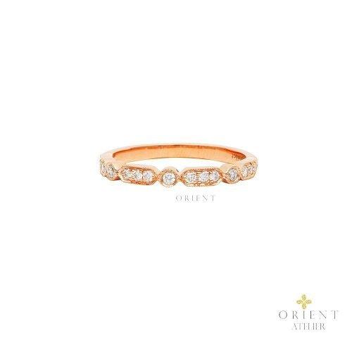 WR62 Orient Atelier Alternate Milgrain Ring
