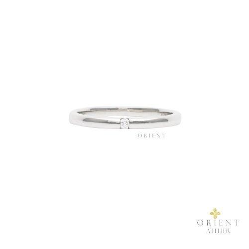 WR65 Orient Atelier Solitaire Diamond Ring