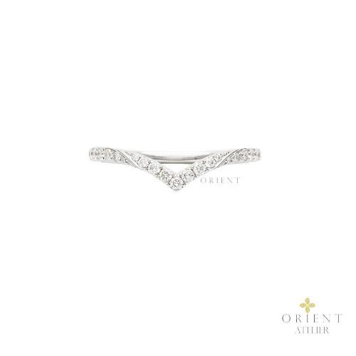 WR66 Orient Atelier Fancy Curved V Ring